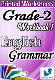 grade 2 english grammar workbook 1 printed book interactive