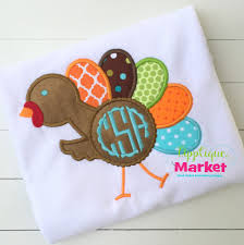 thanksgiving applique market