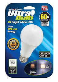 Shatterproof Light Bulbs Bell Howell 60watt Light Bulb Bright White Led Shatter Proof 800