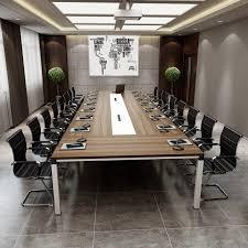 2017 Top Design Boardroom Office Furniture Wooden Glass