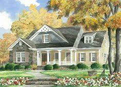 Southern Living House Plans With Basements Brick Ranch Home Plans With Country Porch Deer Ridge Traditional