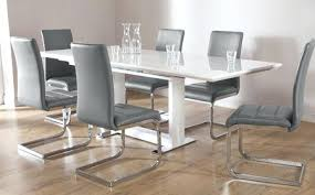 High Gloss Extending Dining Table Contemporary Extending Dining Table White High Gloss Extending