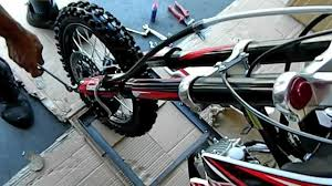 motocross bikes for sale cheap ssr sr125tr 125cc pit bike dirt bike assembly and maintenance