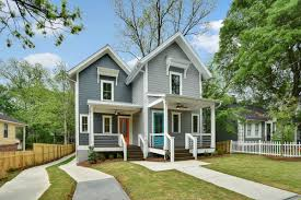 reynoldstown u0027s latest modern farmhouse goes duplex for 495k