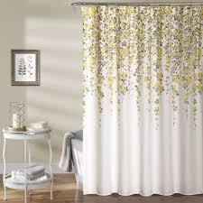 weeping flower room darkening window curtain pair lush décor