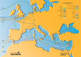 Undersea Cable Map Cyprus Internet Usage In Cyprus