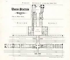 union station toronto plan of main floor virtual reference library