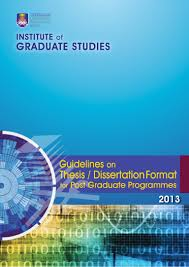 Curriculum Vitae Sample Format Thesis by Uitm Thesis Guidelines 2013