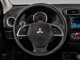 mirage mitsubishi 2015 image 2015 mitsubishi mirage 4 door hb cvt de steering wheel