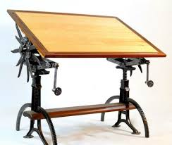 Custom Drafting Tables Hand Crafted Custom Drafting Table By Ironkey Custommade Com