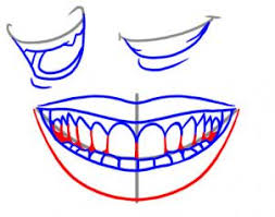 drawing printout how to draw a smile