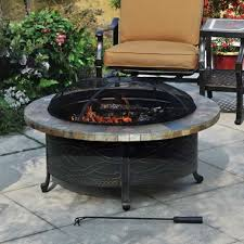 slate fire pit table unique sams fire pit heirloom slate fire pit with cover humble abode