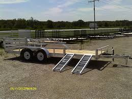 Aluminum Landscape Trailer by Badger Trailer And Power Tandem Axle Utility Trailers