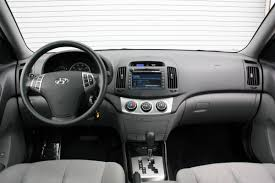 2010 hyundai elantra interior hyundai adds optional in dash lg navigation system to 2010 elantra