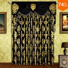 Curtain Rod Store Aliexpress Com Buy Black Small Fur Surface Embroid Black Golden