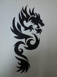 dragon tribal tattoo by xxsufferthesilencexx on deviantart
