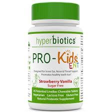 amazon com pro kids ent children u0027s oral probiotics chewable