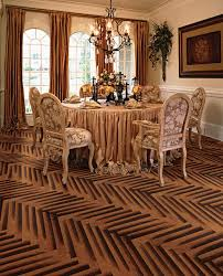 baroque flooring by global direct traditional dining room