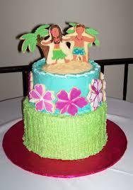 Kitchen Tea Cake Ideas Hawaiian Theme Bridal Shower Cake Cakecentral Com