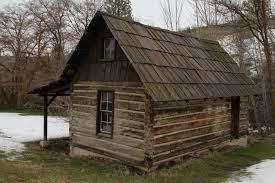 old log cabin colonial frontier houses cabins interiors acce