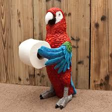 Animal Toilet Paper Holder by Parrothead Standing Toilet Paper Holder