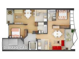 54 best floor plans 2bhk images on pinterest architecture