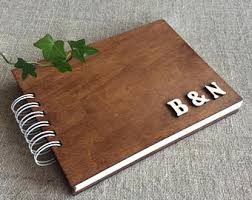 personalized scrapbook albums photo album etsy