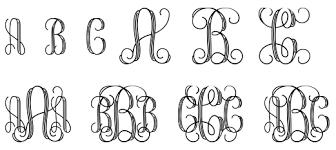 initial fonts for monogram entwined or interlocking monogram forum dafont