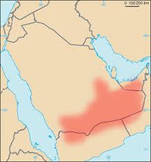 rub al khali map rab el háli wikipédia