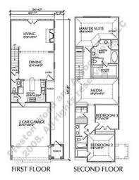 townhome plan d9132 lots 1 4 houses multiplex plans