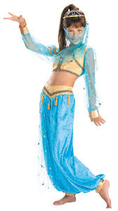 Belly Dancer Halloween Costume Kids Costumes Deluxe Child Mystical Genie Belly Dancer