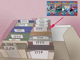 how to organize your trading cards 12 steps with pictures