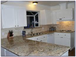 tumbled marble subway tile kitchen backsplash tiles home