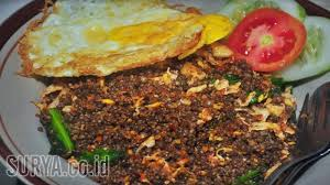 cara membuat nasi goreng untuk satu porsi nasi goreng tiwul khas wilayah gunung wilis bikin goyang lidah