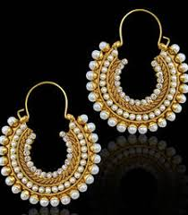 hoops earrings india hoops online shopping buy designer hoop earrings online