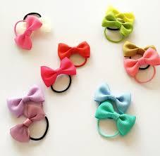 ribbon hair bands 10pcs lot 2 girl hair grosgrain ribbon bow with elastic