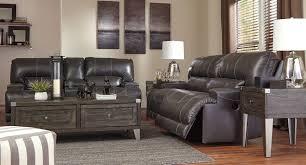 Reclining Living Room Set Mccaskill Gray Power Reclining Living Room Set Living Room Sets