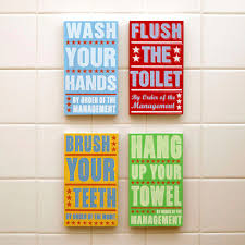 colorful notes for bathroom funny bathroom accessories sets put