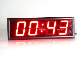 brand new indoor led countdown clock countdown count up time