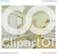 Yellow Baby Room by Royalty Free Rf Clipart Illustration Of The Interior Of A Yellow