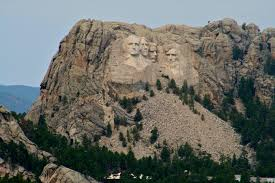 Mt Rushmore Map Distant Shot Of Mt Rushmore Photos Diagrams U0026 Topos Summitpost