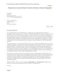 Sales Coordinator Sample Resume Administrative Coordinator Cover Letter Images Cover Letter Ideas