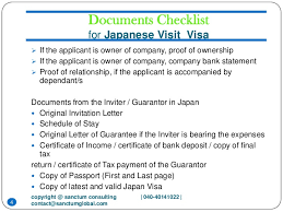 Japanese Embassy Letter Of Invitation japanese visit visa sanctum consulting