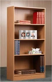 upc 771458423405 bookcase brown oak 4 shelf bookshelf adjustable