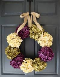 spring door wreaths hydrangea wreath summer wreath mothers day wreath spring