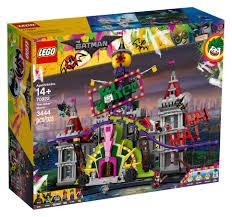lego unveils joker manor set from lego batman movie
