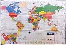 Decorative World Map Home Décor Posters U0026 Prints Ebay