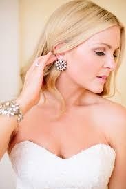 big stud earrings large stud wedding earrings trendy magazine