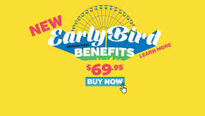 How Much Does It Cost To Enter Six Flags 2018 New Earlybird Png