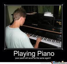 Piano Meme - playing piano by lady lana meme center